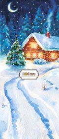 """Фон """"New year №2"""" 3x1.5 (3.5x1.5)"""